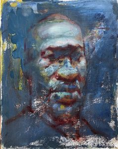 Portrait of George Floyd