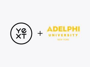 Yext + Adelphi University