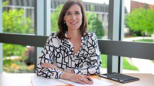 Christine M. Riordan, PhD is the President of Adelphi University in New York