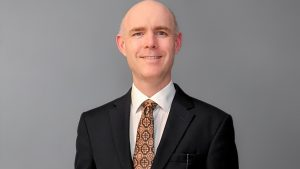 Chris Storm, PhD, Adelphi's new provost and executive vp