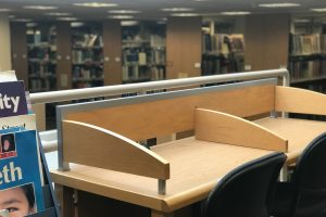 Intra-Stacks Seating & Spaces in Natural Light - Swirbul Library