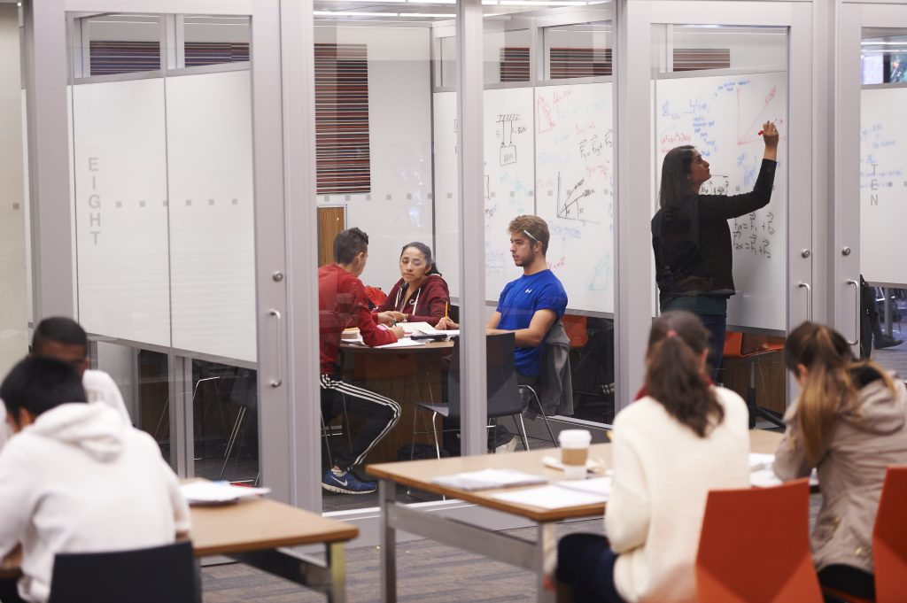 Collaboration Studio in Swirbul Library