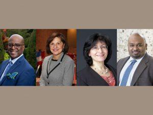 Headshots of all new Adelphi Board of Trustee Members.