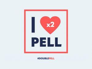 I heart (x2) Pell - #DoublePell