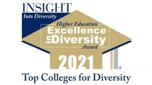 Insight into Diversity: Higher Education Award Excellence in Diversity - 2021 - Top Colleges for Diversity