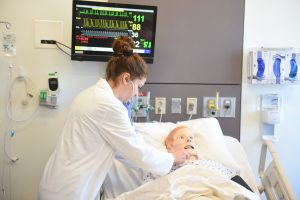 For CNPH nursing students, learning in the various CESiL simulated settings and situations is like training in a real hospital. That experience was especially invaluable in the midst of the pandemic, nursing students said.